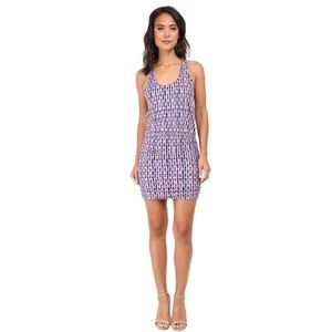 Soft Joie Bond Lattice Ruched Racerback Dress